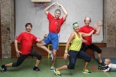 Tag 5 - Jumping, Zumba, Eisstock